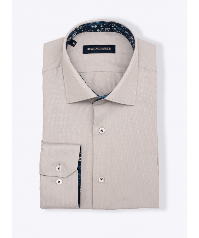 chemise grise homme