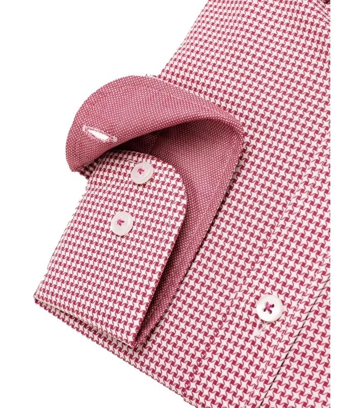 chemise mini pied de poule