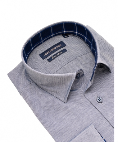 chemise grise marco serussi