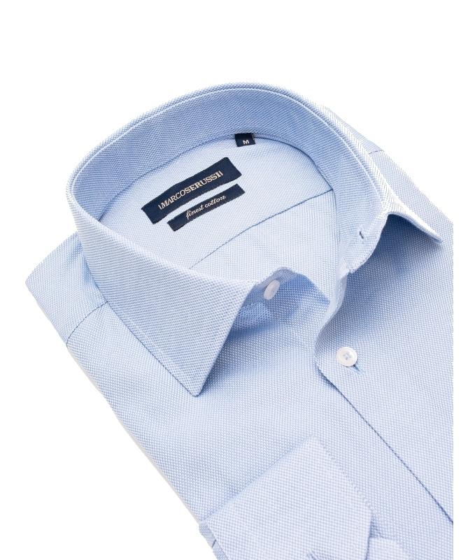 chemise bleu ciel slim