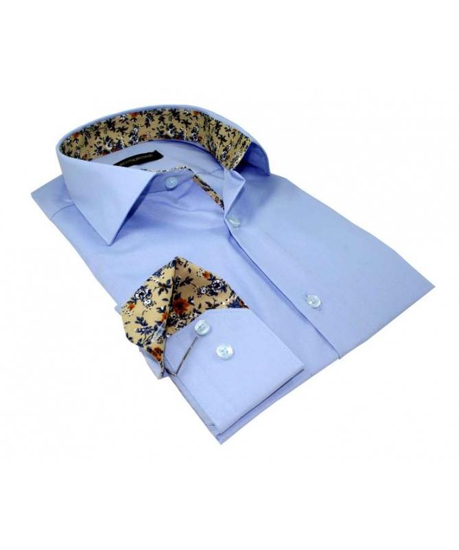 chemise coupe droite