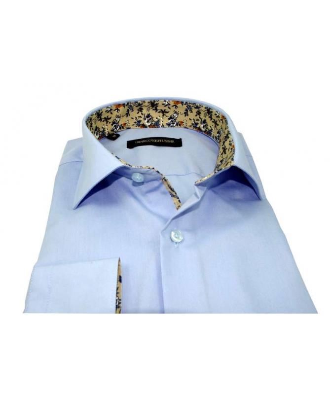 chemise bleu ciel coupe regular