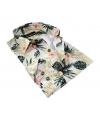 chemise cintrée à fleur