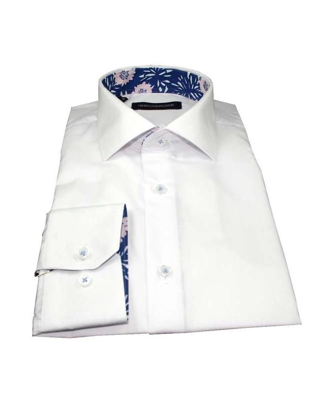 chemise cintrée blanche repassage facile