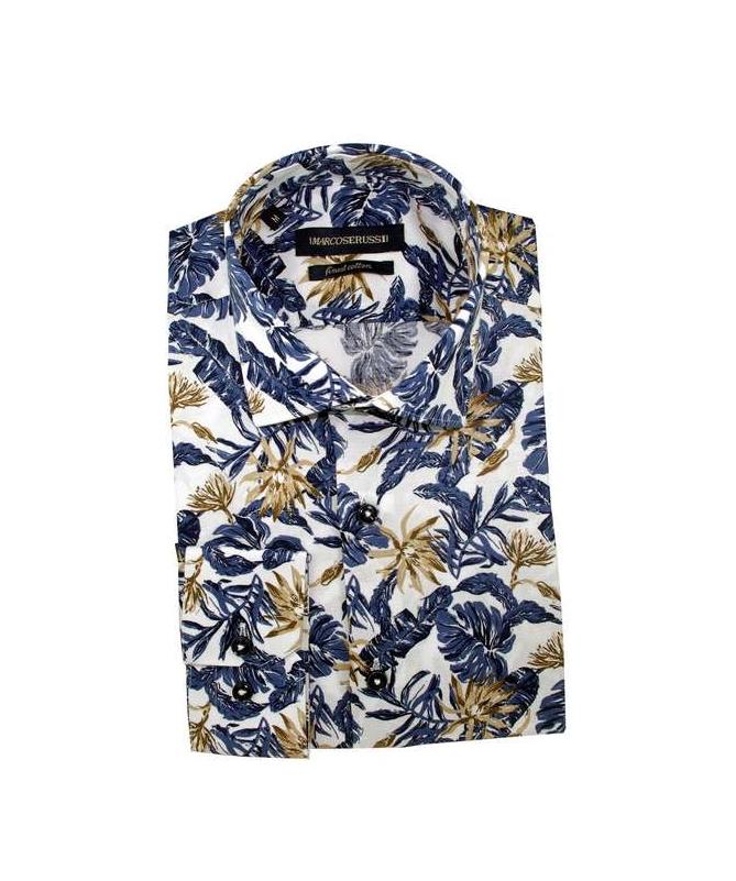 chemise à fleurs 100% coton