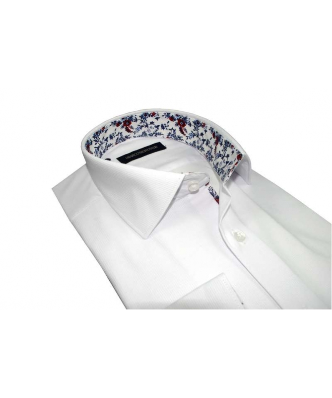 chemise cintrée blanche