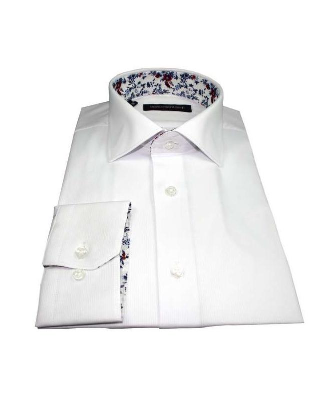 chemise slim fit blanche repassage facile