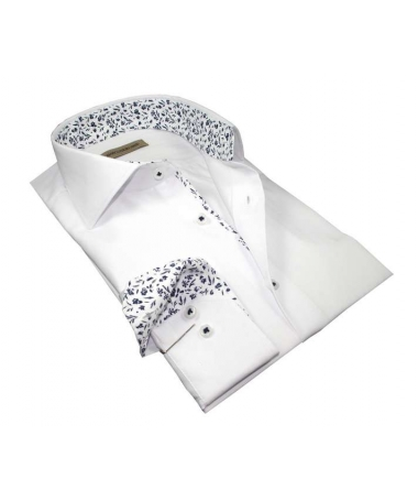 chemise blanche coupe droite