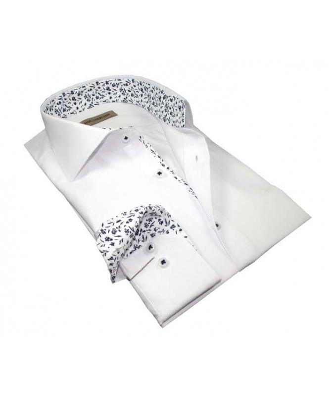 chemise blanche coupe droite