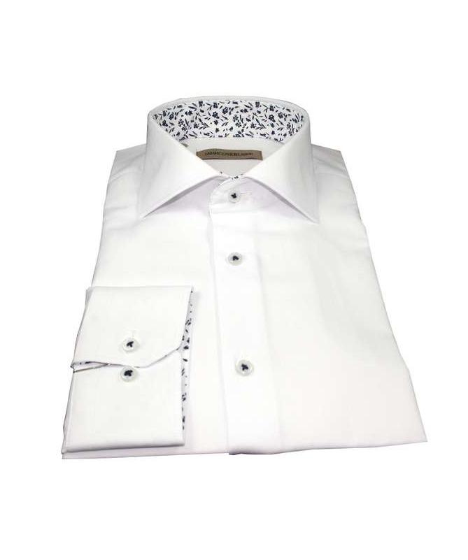 chemise blanche coupe droite marco serussi