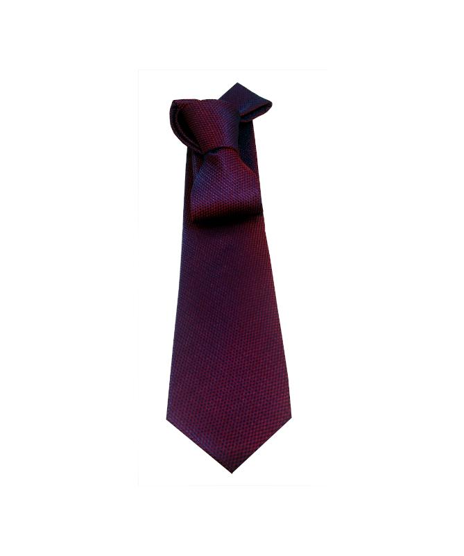 cravate homme rouge et bleu