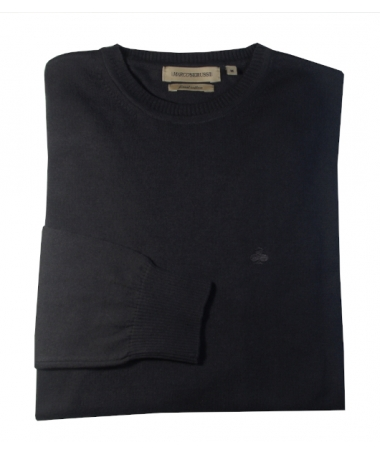 pull gris anthracite col rond