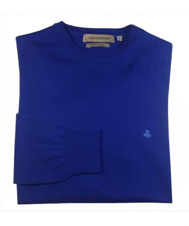 pull bleu 100% coton
