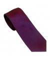 cravate rouge à motif bleu