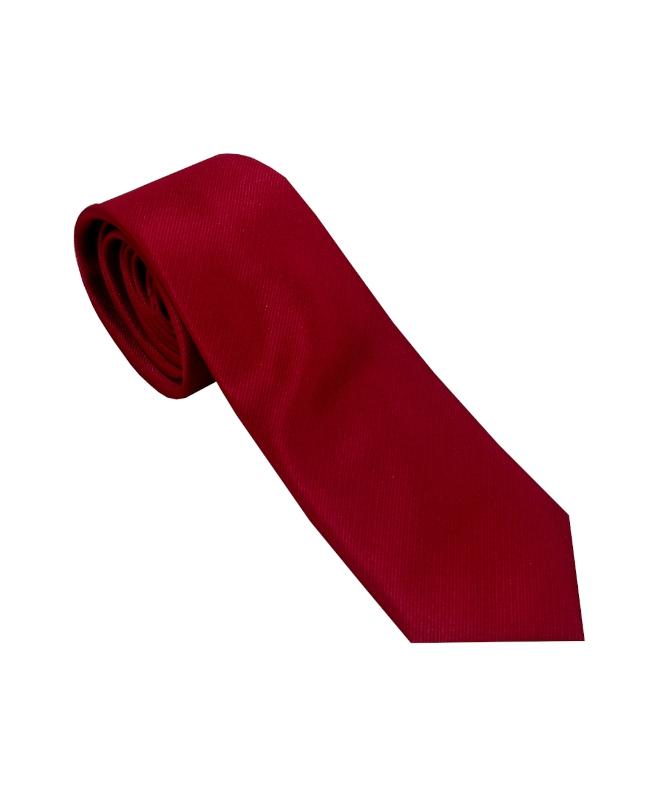 cravate homme rouge