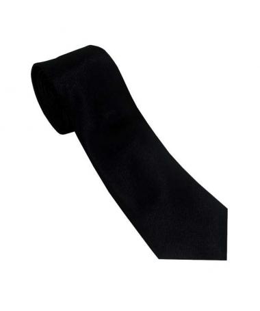 cravate unie noire