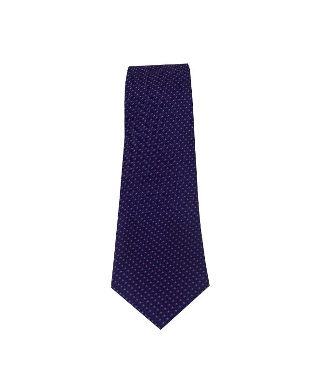 cravate homme bleu et rose