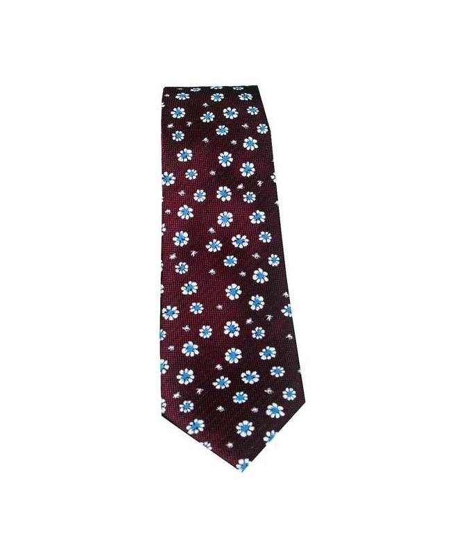 cravate bordeaux homme