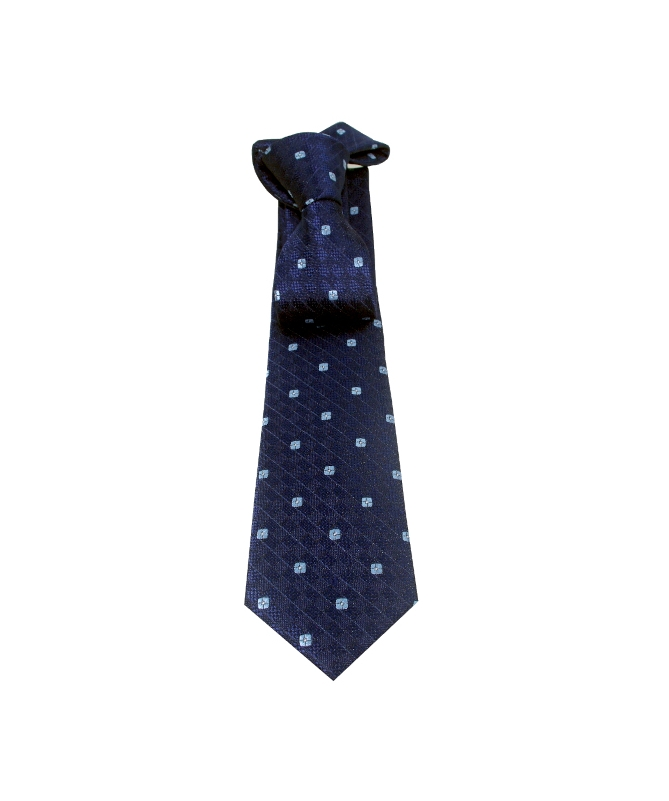 cravate bleu marine et bleu ciel