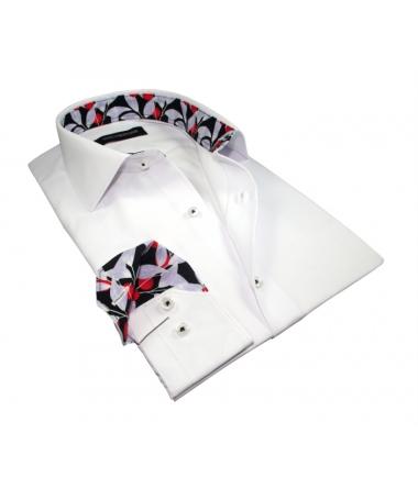 chemise blanche cintrée